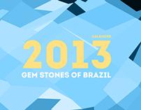Grendene Calendário 2013