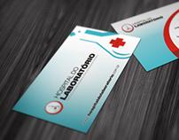Cartão de visita - Hospital do Laboratório