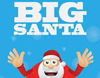 Christmas Big Vector Santa