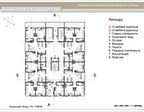 Floor plans for student accommodation project