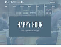 An Unsolicited Redesign of Maui Brewing Co's Website