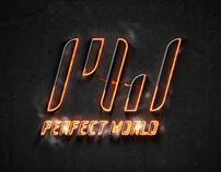 """完美世界Logo 二进制:一阴一阳谓之道 PW Logo """"Binary: YinYang"""""""
