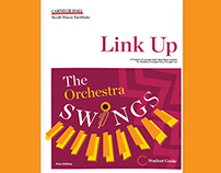 Link Up The Orchestra Swings Education Book