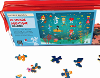 2012-Packaging design for children jigsaw puzzles