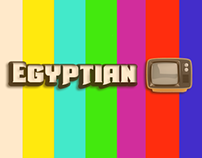 EGYPTIAN OLD TV !