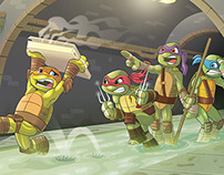 Teenage Mutant Ninja Turtles Illustration 2