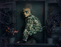 The Jacket by Intrview campaign