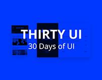30 Days of UI | #ThirtyUI