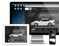 RUF – Mobile First Car Configurator Concept