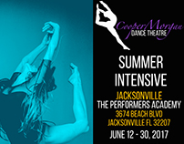 CooperMorgan Dance Theatre Summer Intensive 2017 Flyer