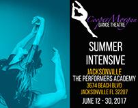 CooperMorgan Dance Theatre Summer Intensive 2017 Flyer