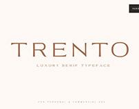 Trento Luxury Typeface