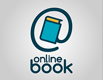 """Logotipo Project Web """"Online Book"""""""