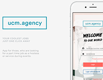 UCastMe - iOS App design
