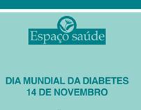 Espaço Saúde dia mundial da diabetes