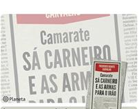 """Lançamento livro """"Camarate Sá Carneiro"""""""