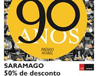 Saramago 50% de desconto