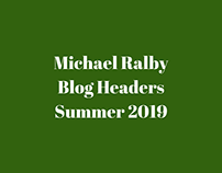 Michael Ralby Recent Blogs