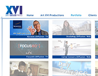 Art XVI Productions - Website