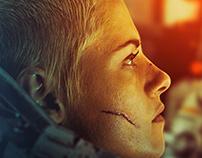 UNDERWATER Movie Poster design
