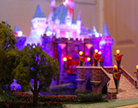 Sleeping Beauty Castle Papercraft and Model (WIP)