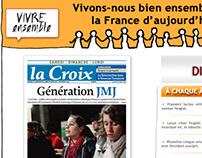 Bayard / La Croix - webpage