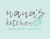 Nana's Kitchen branding and packaging