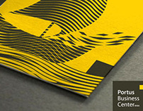 Portus Business Center. Brand design. Belgium. 2012.