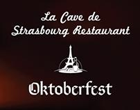 La Cave de Strasbourg Restaurant - Menus