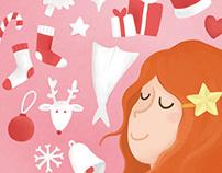 Rita Balixa & Sweet Pea Badges - Edição de Natal