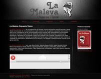 La Maleva Orquesta Típica - Sitio Web (Primera versión)