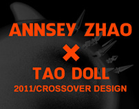 AnnseyZhao x TaoDoll crossover design.