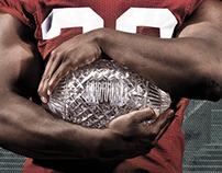 2010 Alabama Football Media Guide Covers