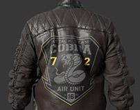 Leather Bomber Jacket - Marvelous Designer Garment