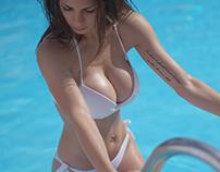 Francesca Vetranoat thePool - Summer2018 ☀️👙💦