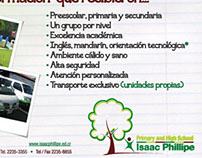 Ad for a Private School