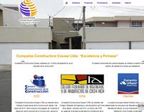 Compañía Constructora Cavawi Website