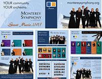2011-2012 Season Advertising for Monterey Symphony