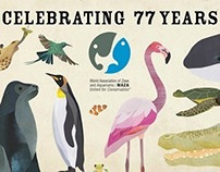 World Association of Zoos & Aquariums Poster