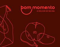 BOM MOMENTO | Branding support