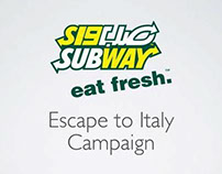 Escape to Italy Campaign