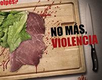 NO MÁS, VIOLENCIA.