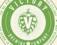 Re-brand of Victory brewing company
