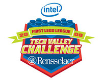 Intel First Lego League Challenge at RPI Logo '08