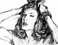 Androgyny Sketches