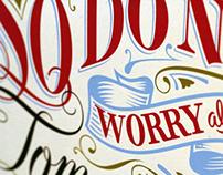 Matthew 6:34 Poster Prints!