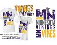 Vikings Giveaway Promo