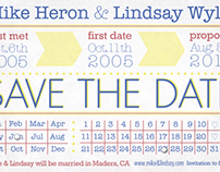 Country themed Save-the-Dates