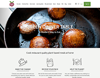 Online food store and planning Website