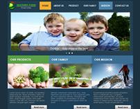 Web Design : Doctors Food